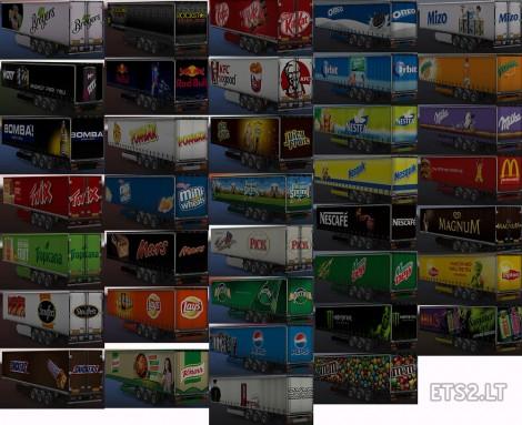 Food & Drink Trailers Pack (3)