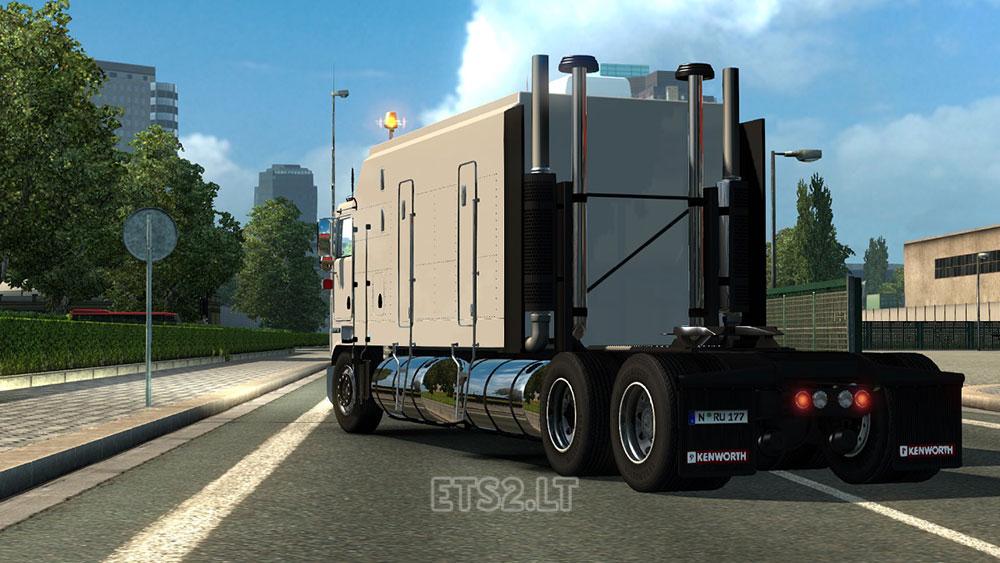 Kenworth K100 Long Frame | ETS 2 mods