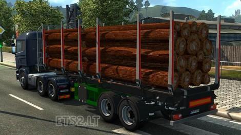 Logs Trailer