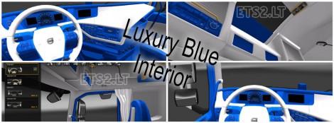 Luxury Blue Interior