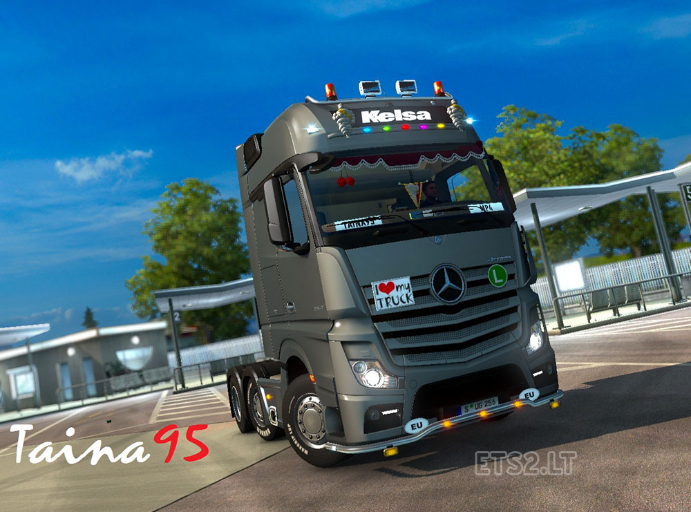 Mercedes Actros Mp4 V 1 4 Ets 2 Mods