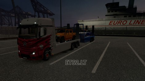 Mercedes Actros MP4 Flatbed (1)