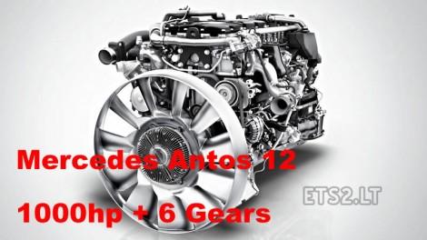 Mercedes Antos 12 1000 hp