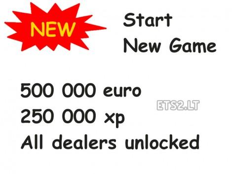 New Game Easy Start