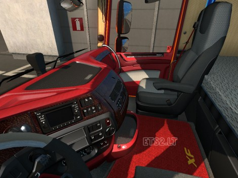 Red Leather Interior (2)