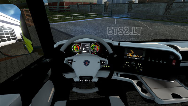 Scania Interior ETS 2 Mods