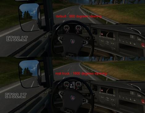 Steering Wheel Animation