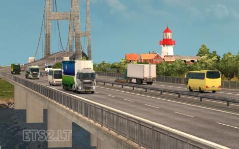 Traffic Density and Trucks Speed Limits