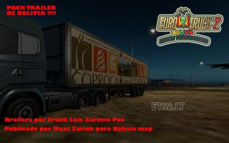 Trailer for Bolivia Map