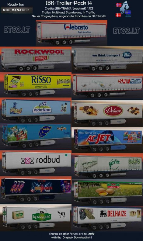 Trailers Pack 14