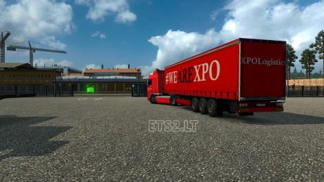 XPO Logistics Trailer (2)