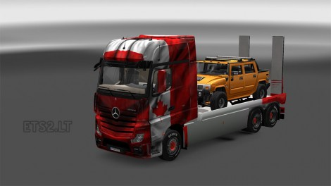 actros-flatbed