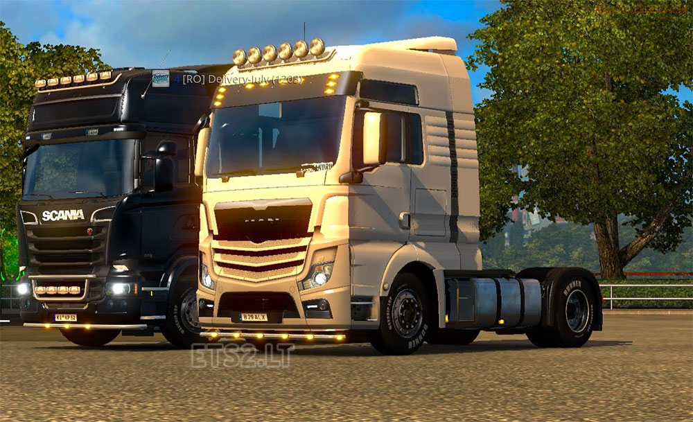 hybrid man truck for multiplayer ets 2 mods. Black Bedroom Furniture Sets. Home Design Ideas