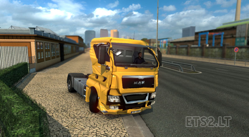 crash | ETS 2 mods