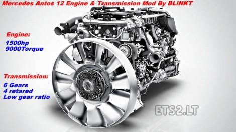 1500 hp + 6 gears