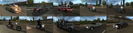 GTA IV Traffic Pack (2)