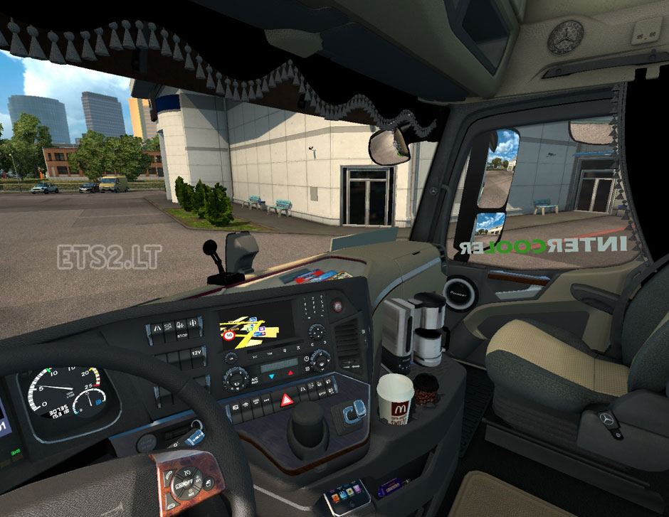 Mercedes Actros MP4 Interior | ETS 2 mods