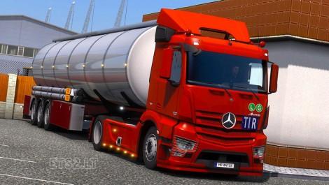 Mercedes Benz Antos (1)