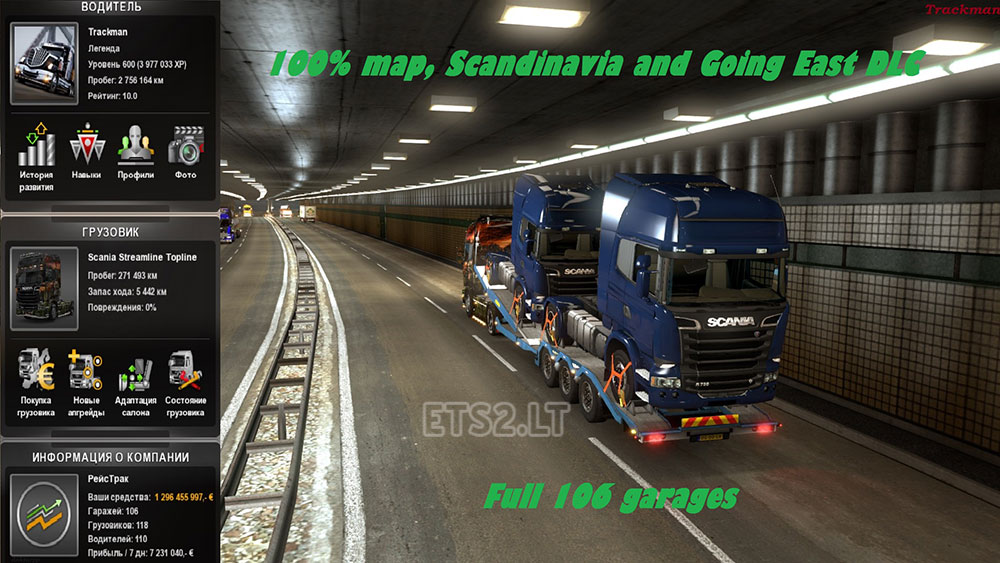 scandinavia dlc and going east dlc | ETS 2 mods