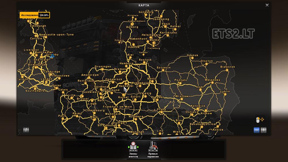 scandinavia DLC | ETS 2 mods