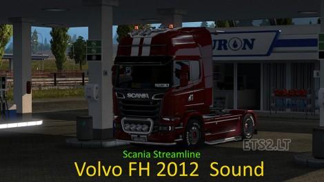 Scania-Streamline-Volvo-FH-2012-Sound-1