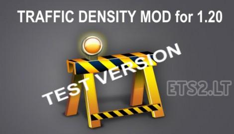 Test Traffic density