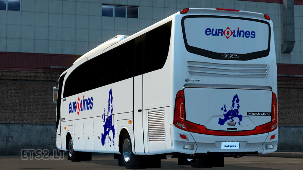 EURO TRUCK SIMULATOR EUROLINES BUS 2012