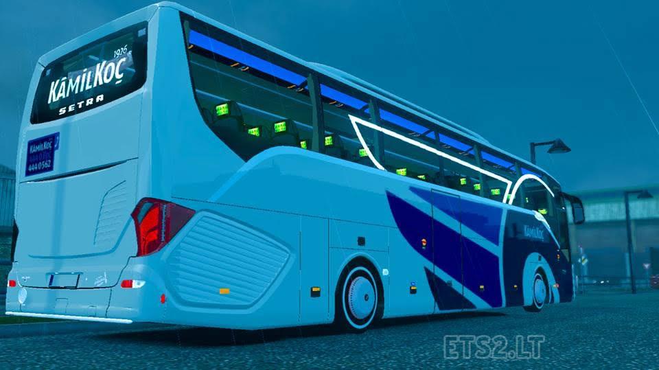 Bus mod ets 2 mods for Mercedes benz long beach service department