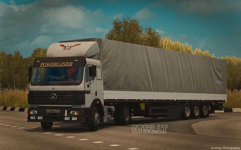 Mercedes Benz Dealership >> Mercedes Benz SK 1838 LS & Interior | ETS 2 mods