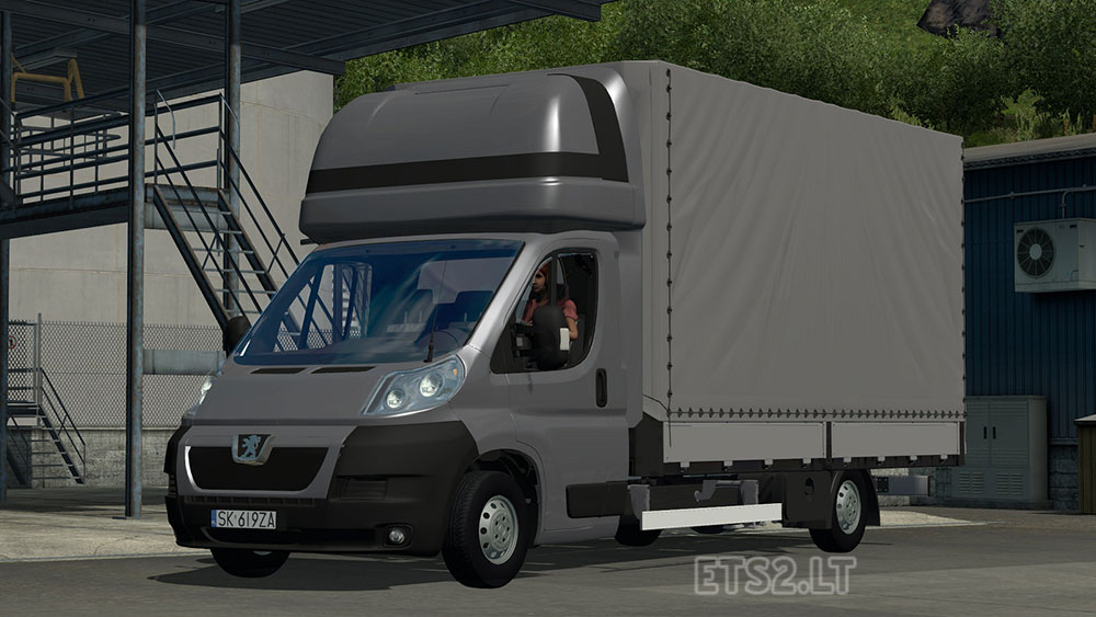 peugeot boxer v 2 0 ets 2 mods. Black Bedroom Furniture Sets. Home Design Ideas