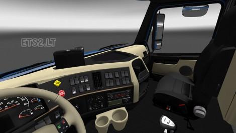 Volvo Vnl 780 Interior Reworked Ets 2 Mods