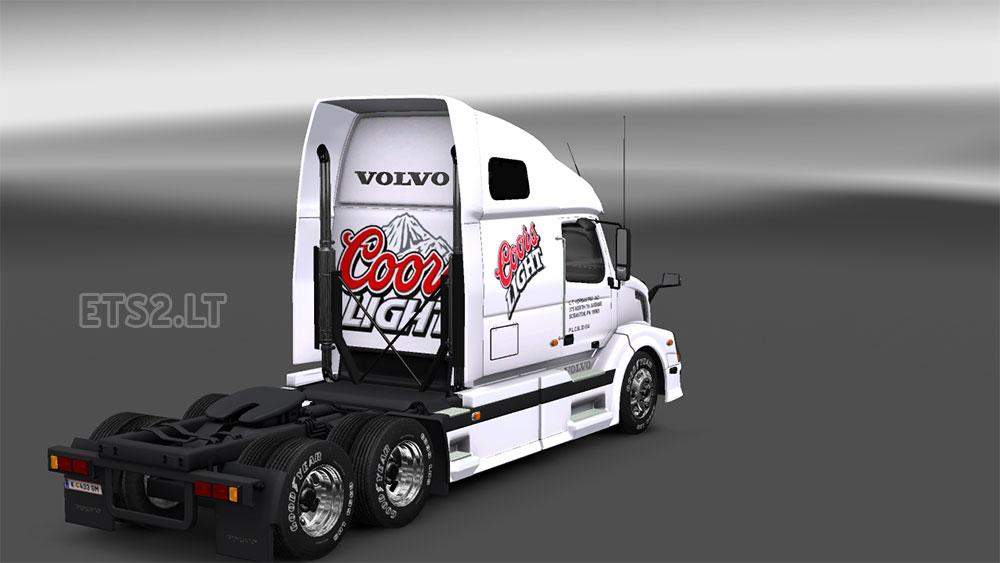 Dc vnl 670 coors light combo pack ets 2 mods coors light aloadofball Gallery