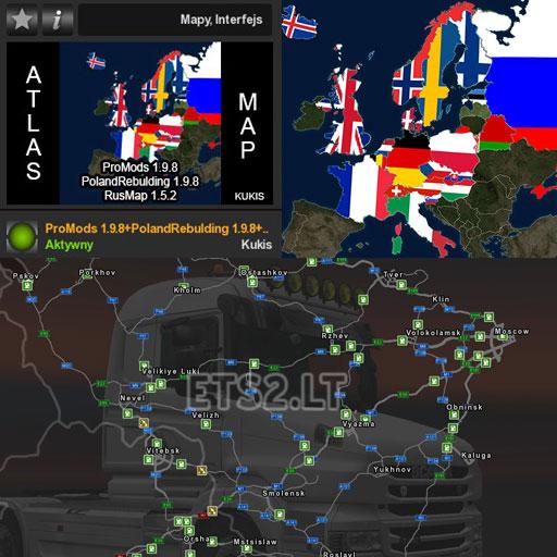 Poland Map Ets2 Mods Part 2
