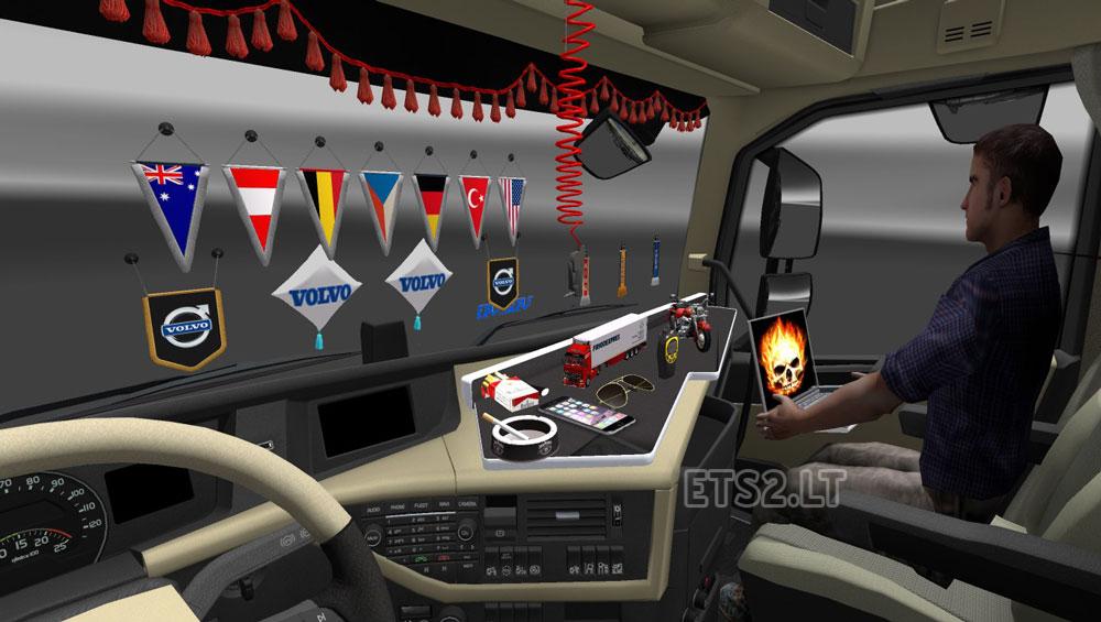 Dlc cabin acc ets 2 mods for Interior design simulator online free