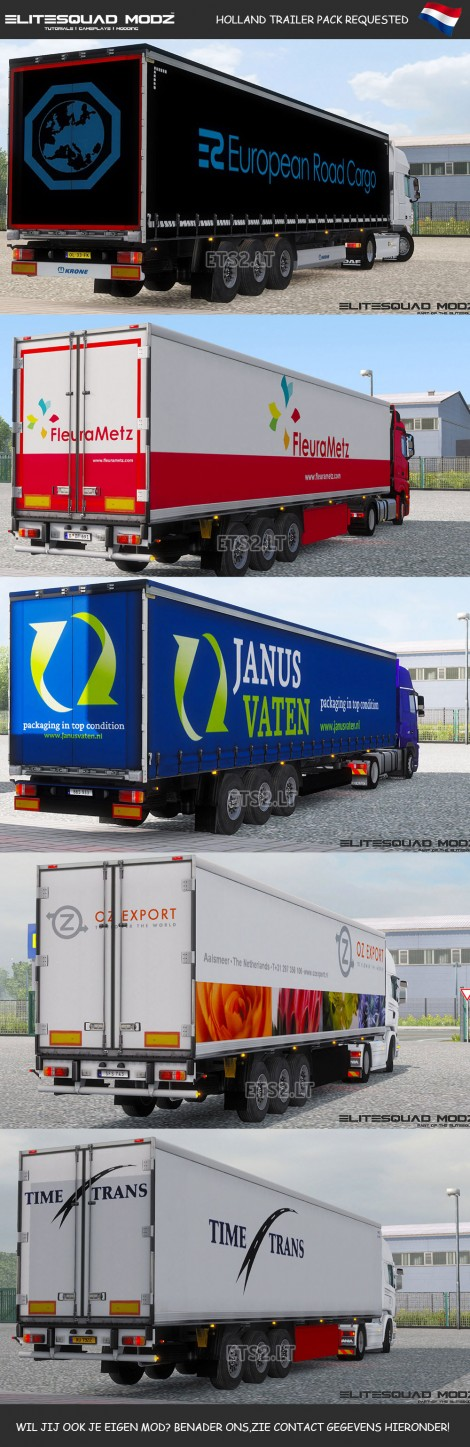 Holland-Trailers