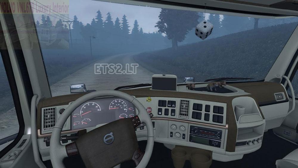 Volvo VNL 670 v1.23 Luxury Interior | ETS 2 mods