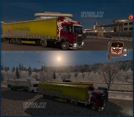 Scania-R-Snow-+-Snow-Wheels-+-Snow-Trailer
