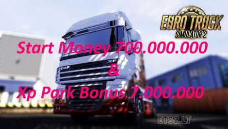 Start-Money-and-Park-Xp-Bonus