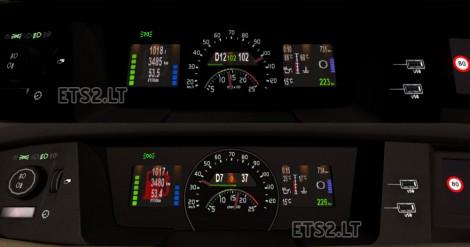 Volvo-FH16-Dashboard
