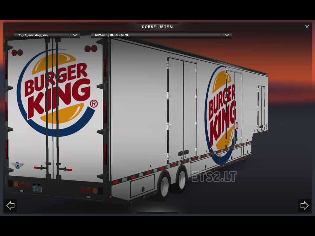 burger king   ETS 2 mods - Part 2