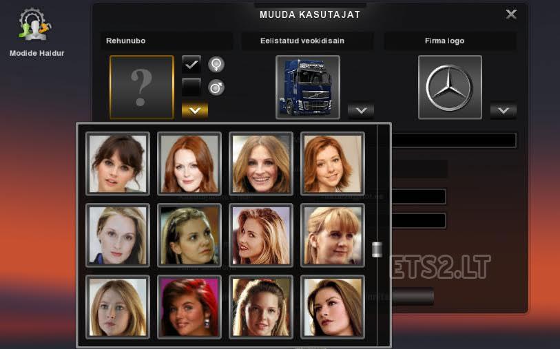rehunubo s new truck drivers icons ets 2 mods