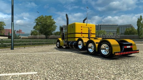 yellow-peterbilt