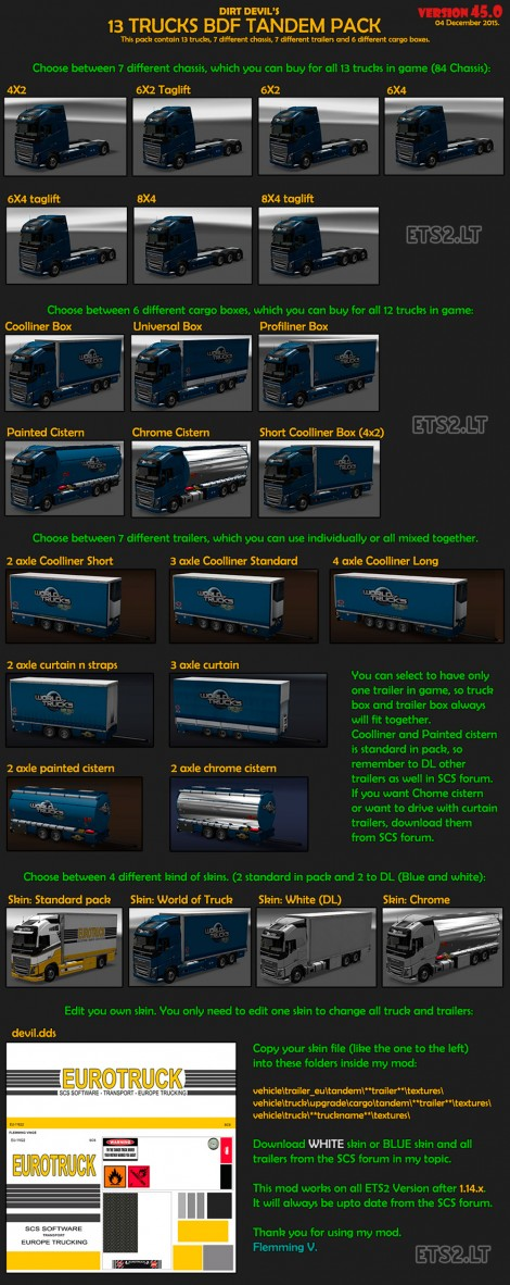 BDF-Tandem-Truck-Pack