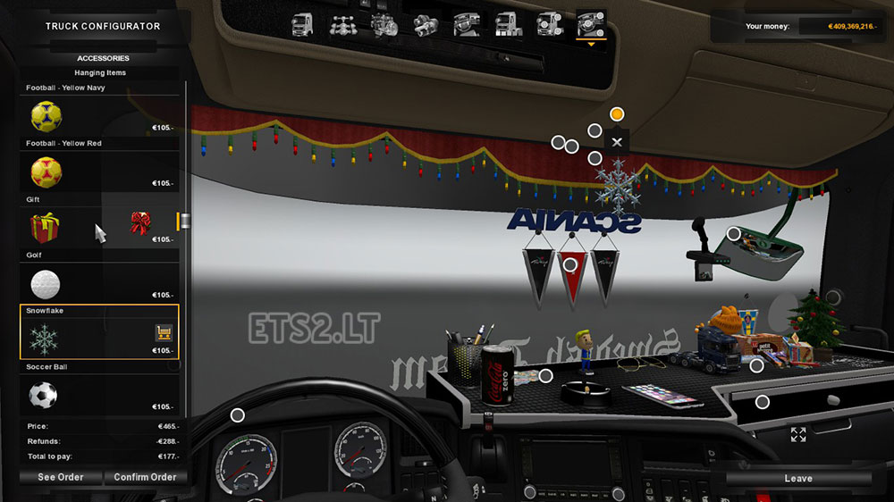 How To Show Your In Car Map In Ets