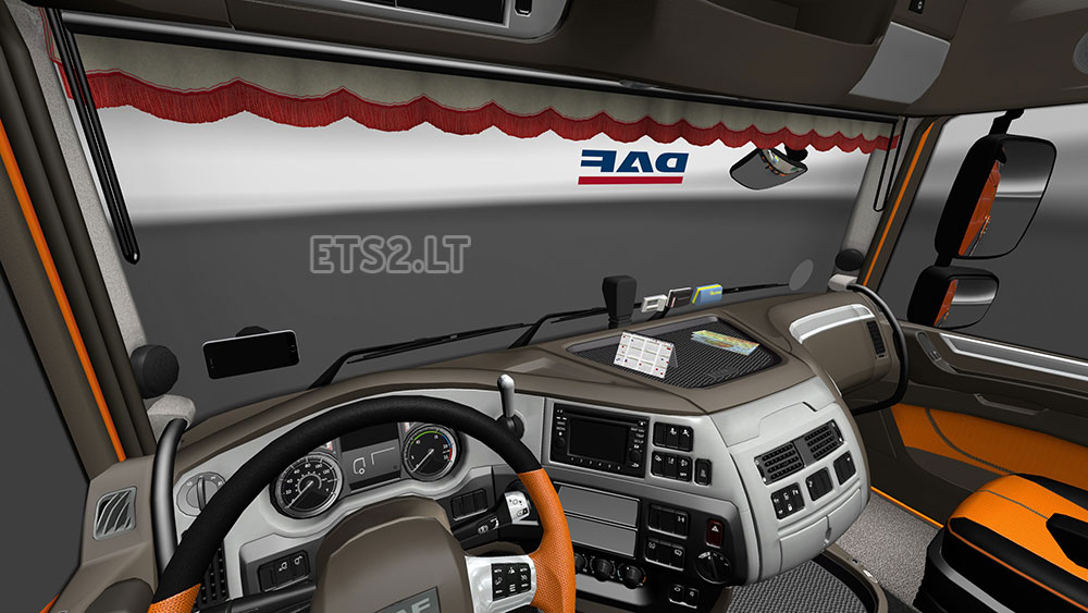 Daf trucks interior the image kid has it for Daf euro 6 interieur