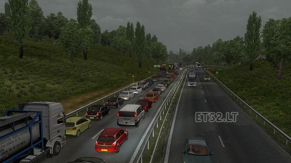 more traffic | ETS 2 mods