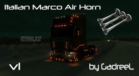 Italian-Marco-Air-Horn