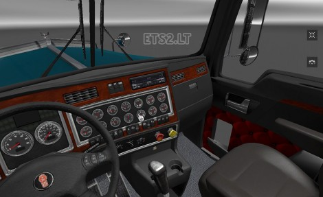 Kenworth-W900-Interior-1