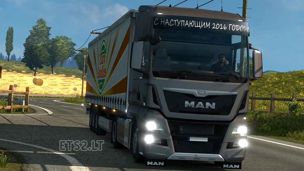 Seat Skins For Trucks >> MAN TGX/TGX Euro 6 Reworked | ETS 2 mods