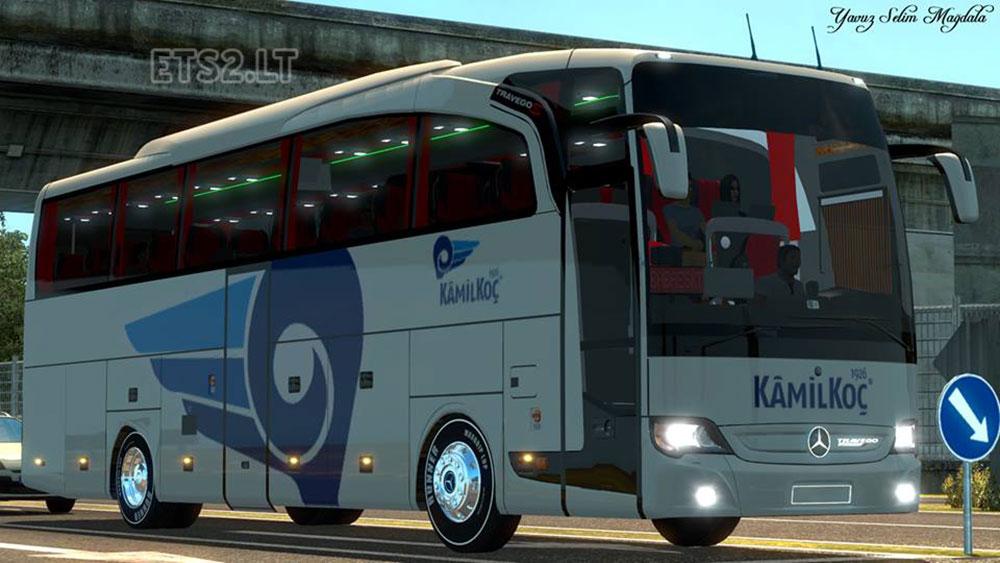 Mercedes Benz Travego Bus Mod Ets2 ✓ The Mercedes Benz
